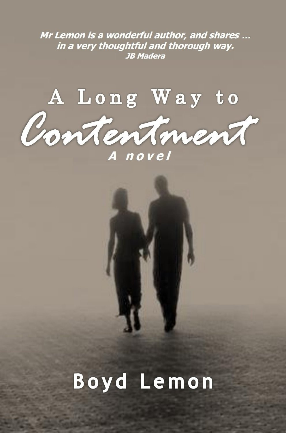 A long way to contentment cover
