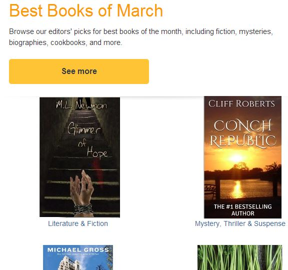 Cliff Roberts Amazon Picks