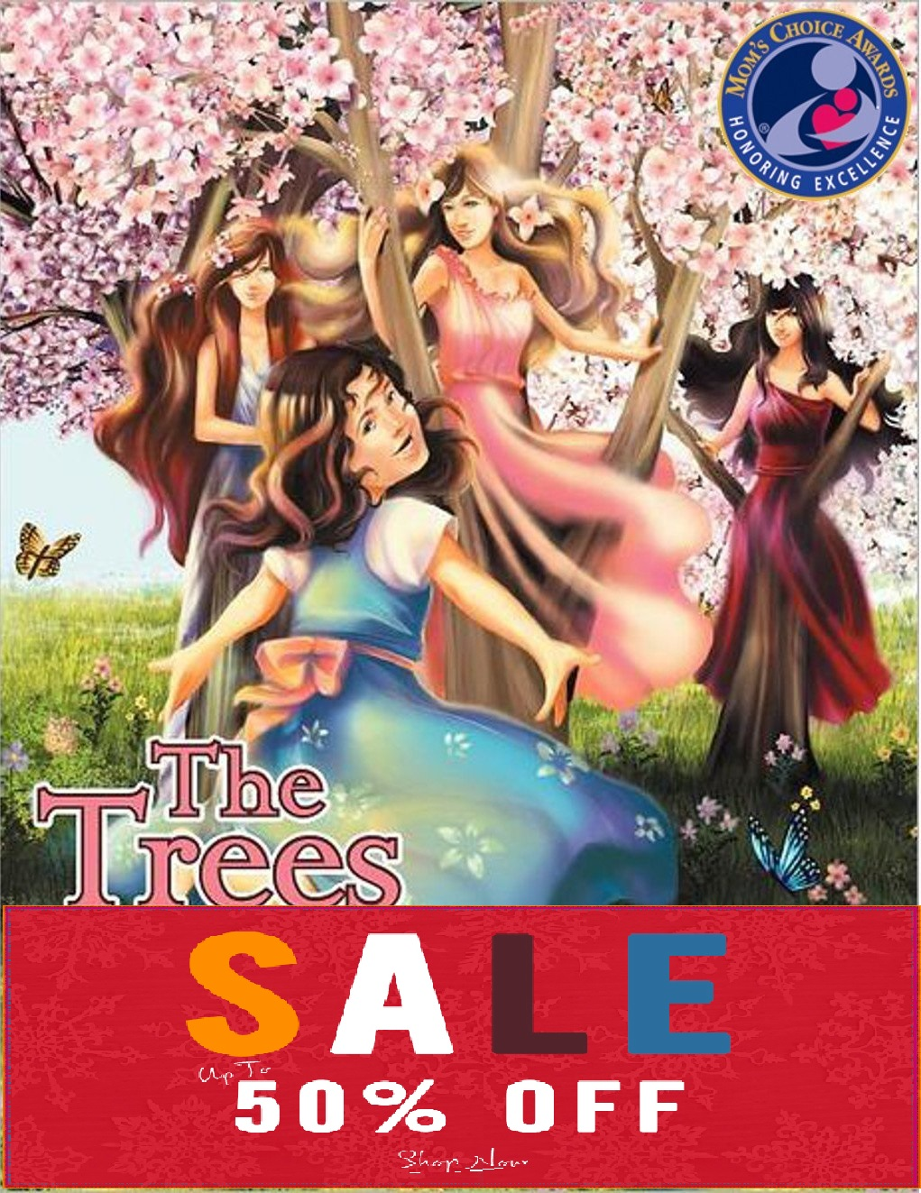 the trees have hearts sale cover